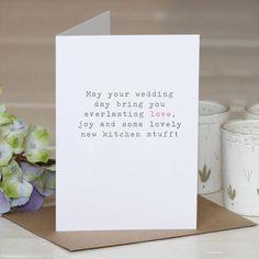 drôle d'inscription de carte félicitation mariage
