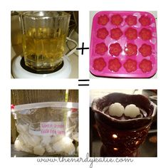 DIY candle melts! So smart and easy.