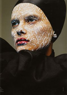 Artistic Makeup: French Revue de Modes - F/W 08.09 | Maquiagem artística