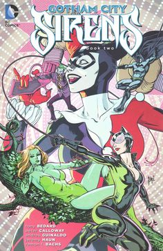 Catwoman deals with the aftermath of battling her sister in this new title, setting her against Harley Quinn and Poison Ivy in a brutal display of their villainous roots. And don't miss guest appearan