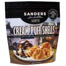 Sanders Cream Puff Shells