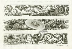 Jean Le Pautre Engravings 1751
