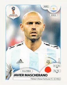 265 - Javier Mascherano ARGENTINA
