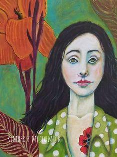 Class taught by Maria Pace-Wynters...Tribute to Georgia OKeefe #kimberlymccormick #beautyforashesartanddecor #portraits #acrylicportraits #georgiaokeefe #womenartists