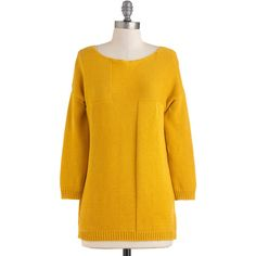 Saffron to Something Sweater ($43) ❤ liked on Polyvore