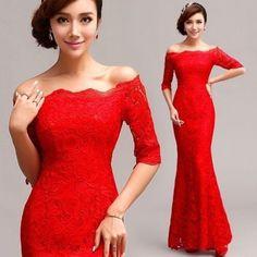 2014 Nuevo formal Boda Prom fiesta Dama Noche Bola Vestido red/lf097 in Ropa, calzado y accesorios, Ropa para mujer, Vestidos | eBay
