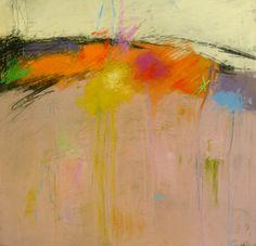 """IAPS interviews: Arlene Richman, """"Mars,"""" pastel, 11 x 11 in"""