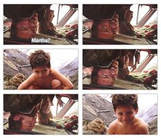 """""""Martha?"""" - Jonathan and Martha Kent discovering Lil' Clark #Smallville Cutest child ever!"""