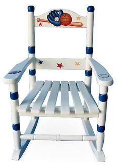 One Kings Lane - Sweet Seats - Sports Rocking Chair