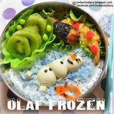 Bento Bloggers & Friends: Frozen Lunches! ♫ Do You Want To Build a Bento? ♪