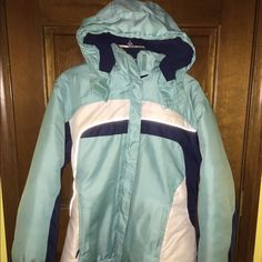 Winter jacket with removable fleece full zip Great winter coat. Can remove fleece lining for just a light jacket and removable hood. Great condition Jackets & Coats
