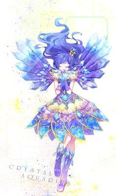 Kiriya Aoi Constellation Dress: Crystal Aquarius Coord by Futuring Girl