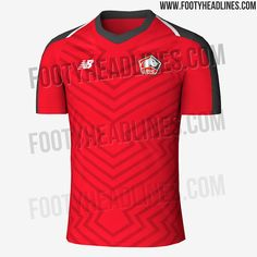 06ba8861c42 NEW Logo  Lille 18-19 Home Kit Leaked - Footy Headlines