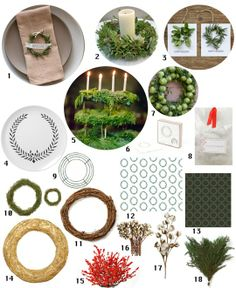 Host a Wintery Wreath-Making Party — Apartment Therapy Perfect Party Ideas Guide