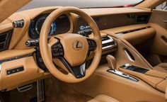 2017 Lexus LC500 Coupe Dissected: Design, Powertrain, Chassis, and More – Feature Lexus Lfa, Lexus Coupe, Lexus Cars, Audi Interior, Truck Interior, Mazda Cx 9, Jaguar Xe, Infiniti Q50, Mini Countryman