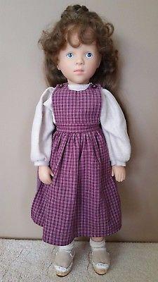 Gotz German Doll Sylvia Natterer Fanouche And Friends Delia Brown
