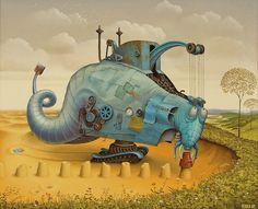 Cultura Inquieta - Así son las criaturas que pueblan los mundos de Jacek Yerka