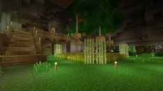 minecraft underground base - YouTube
