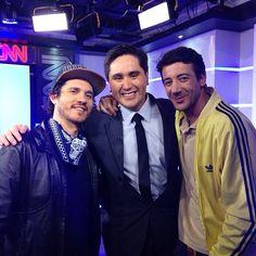 Bandalic apañando! Ayer Rulo en CNN con su bandalic promocionando el nuevo disco de @lostetasoficial y el single #tanz 🔥❤️ @rulomusic #bandalic