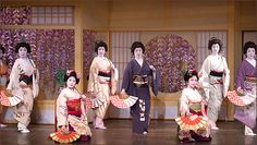 The Roving Ronin Report: Geisha Dancing - Kamogawa Odori