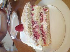 Dansk lagkage! (Danish birthday cake)