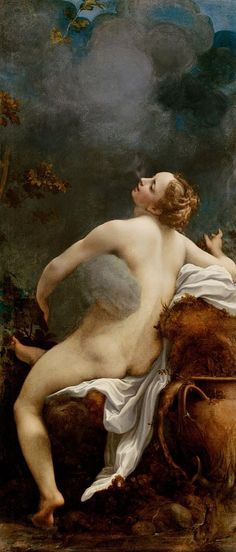 'Jupiter and Io' (c. 1532-1533) by Antonio da Correggio.
