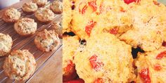 Pizza muffins are not only a well balanced meal, but are perfect for freezing and sending in the school lunchbox. INGREDIENTS 2 cups self raising flour2 eggs1 cup milk1 cup zucchini, peeled and grated1 cup cheese, grated1 cup ham, diced1/4 cup oli