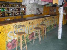 Sydney's self serve bar! Little Harbour, Jost Van Dyke