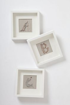 A B C wall art for kids bedroom- cute graphics