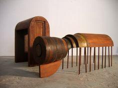 shay id alony - Burrows - Blind Spot, Petach Tikva Museum of art, 2008.