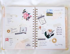 A rosy planner printable on the blog + PWM video!  Hope you have a beautiful week!