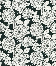 In this back to the future retro is mod floral pattern wallpaper, your will find a dashing moxie of sophistication. This designer pick is energizing and chic in the most enduring of all color combinat