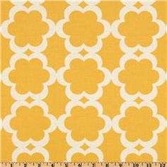 "Dena Designs for Free Spirit; Taza Tarika in Yellow \ $9 per yard \ 44"" wide Cotton Quilting fabric"