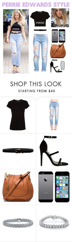 """Get the perrie Edwards look"" by antoniagastillio ❤ liked on Polyvore featuring Vince, D'Amico, Chloé, Alor and Kobelli"