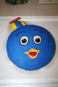 Backyardigans Cake- Pablo By sarahkate80 on CakeCentral.com
