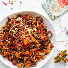 It ain't a party without a real-deal, game-day party mix. Yes, of course, there will be Bugles—they're completely irresistible.