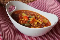Colorful minced meat and vegetable stew by gabipan Paleo Recipes, Healthy Dinner Recipes, Low Carb Recipes, Soup Recipes, Vegetable Stew, Vegetable Dishes, Casserole Dishes, Casserole Recipes, A Food