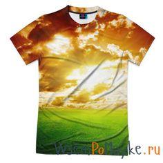 Мужская футболка 3D с полной запечаткой Закат купить в интернет магазине WsemPoMayke.Ru http://wsempomayke.ru/product/manshortfull/1064473  Доставка по России курьером или почтой, оплата при получении. Посмотреть размеры и цену > http://wsempomayke.ru/product/manshortfull/1064473