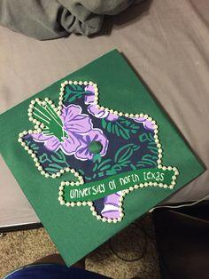 Graduation cap #UNT #GRAD #2015