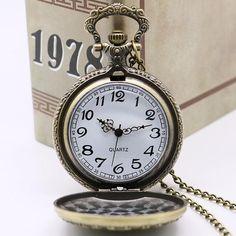 Naruto Pocket Watch Pendant Necklace