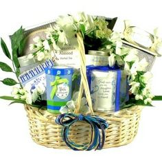 My Daughter, My Friend ($95.00)- This gift basket offers special gifts, indulgent treats and pampering spa products all selected to help make daughters feel very loved and appreciated.