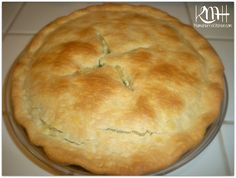 Chicken Pot Pie made with Refrigerated Pie Crusts, made this sept 2013, very good recipe to follow for someone who has never made one.  Husband loved it.