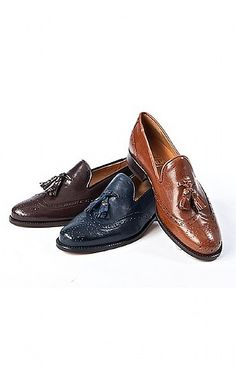 620ef02bc5c Brogue Tassel Loafer. Ladies BroguesTassel LoafersLoafer ShoesTasselsShoe  ...