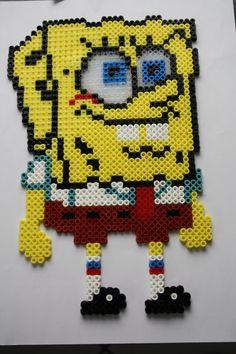 SpongeBob hama beads Bügelperlen by camille2006