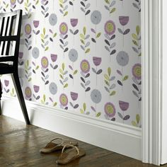 Found it at Wayfair.co.uk - Fresco 10m L x 52cm W Floral and Botanical Roll Wallpaper