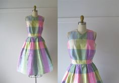 vintage 1960s dress / 60s dress / Carousel Party by Dronning