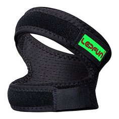 549c0ef685 Lepfun P3000 Patella Knee Strap,Adjustable Dual Strap Band Brace for Knee  Support- Fit Running, Basketball and Arthritis.Black(1 Piece),11'' - 22''