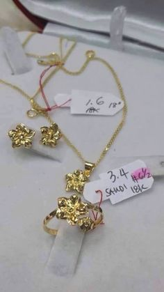 For sale:  18K #Saudi #Gold Jewelry Set #Earrings + #Ring + #Necklace + #Pendant  More #Jewelry displayed at  FB.com/KatrinasClothingShop  #shoppingPh #onlineShoppingph #onlinesellerPh #onlinestore #onlinestoreph #katrinasclothing #jewelryph #accessoriesph #jewelries #jewelriesph #necklaceph #earringsph #ringph #ringsph #pendantph  Message us at  FB.com/KatrinasClothingShop