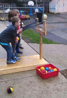 Ball launcher would be a fun cub scout activity