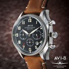 AVI-8 Supermarine Seafire AV-4025-02 Chronograph